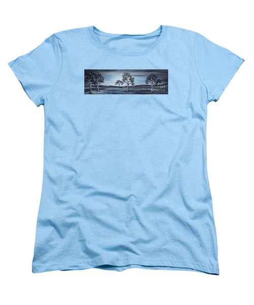 Big Country Women's T-Shirt (Standard Cut) by Kenneth Clarke