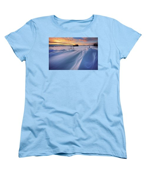 Big Drifts Women's T-Shirt (Standard Cut) by Dan Jurak
