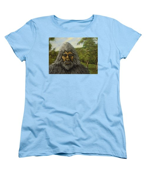 Big Foot In Pennsylvania Women's T-Shirt (Standard Cut) by James Guentner