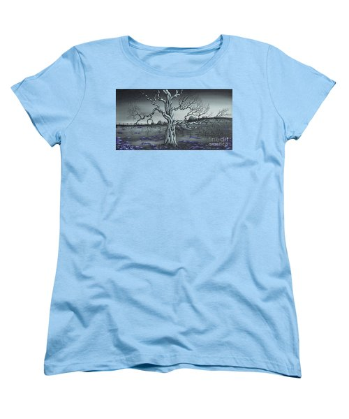 Big Old Tree Women's T-Shirt (Standard Cut) by Kenneth Clarke