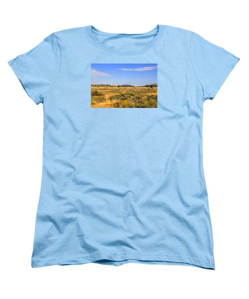 Big Sky Montana Women's T-Shirt (Standard Cut) by Chris Smith