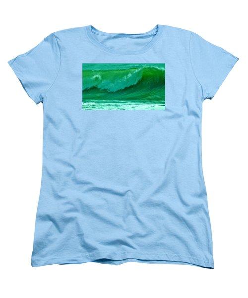 Big Surf 2 Women's T-Shirt (Standard Cut) by John Wartman