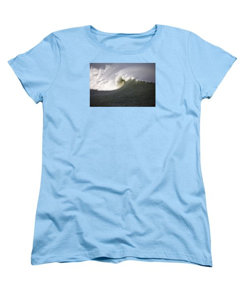 Big Waves #3 Women's T-Shirt (Standard Cut) by Mark Alder