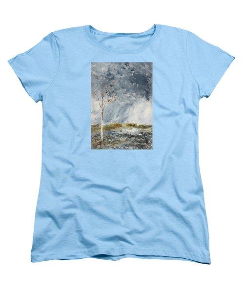Birch I Women's T-Shirt (Standard Cut) by August Strindberg