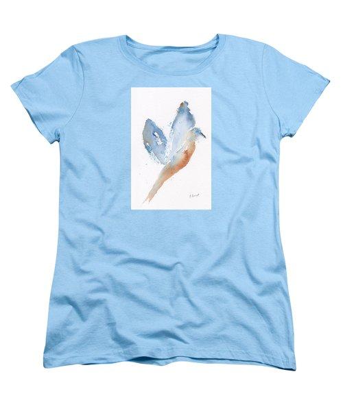 Bird Takes Flight  Women's T-Shirt (Standard Cut) by Frank Bright