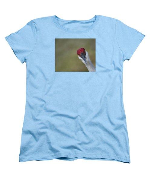 Bird Watching Women's T-Shirt (Standard Cut) by Elizabeth Eldridge