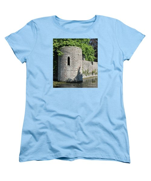 Women's T-Shirt (Standard Cut) featuring the photograph Birds Eye View by Linda Prewer