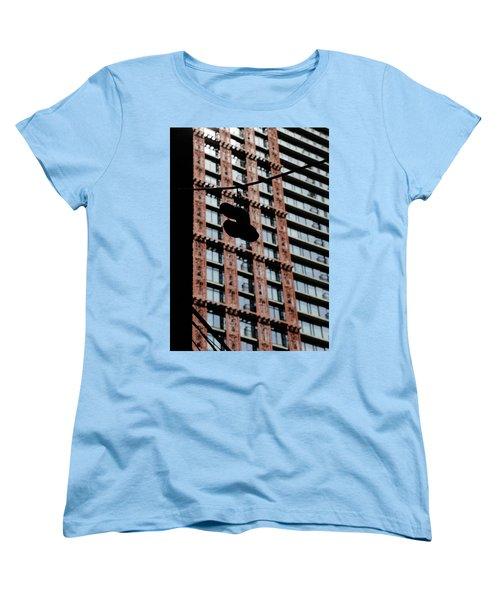 Women's T-Shirt (Standard Cut) featuring the photograph Birds Of Soul  by Empty Wall