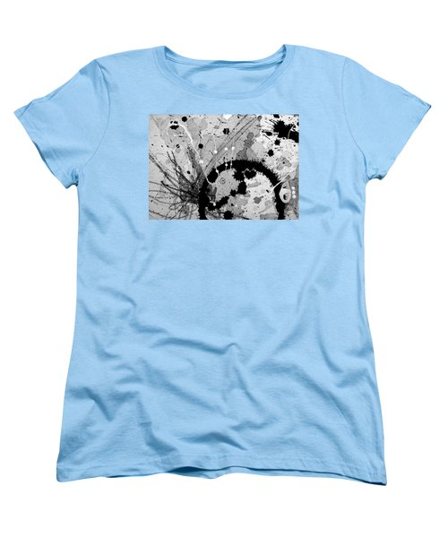 Black And White Three Women's T-Shirt (Standard Cut) by Tracy Bonin