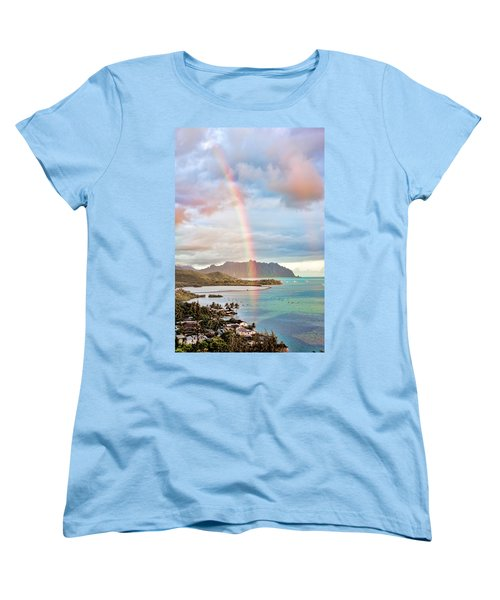 Black Friday Rainbow Women's T-Shirt (Standard Cut) by Dan McManus