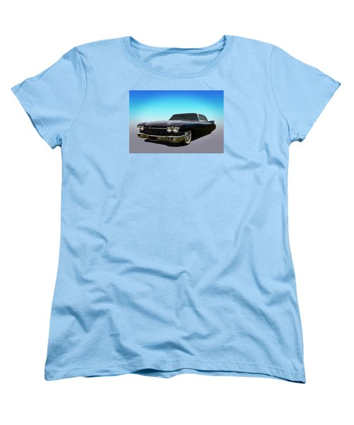 Women's T-Shirt (Standard Cut) featuring the photograph Black by Keith Hawley