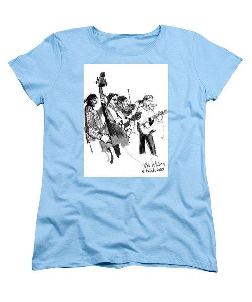 Blacksmith II Women's T-Shirt (Standard Cut) by Tim Johnson