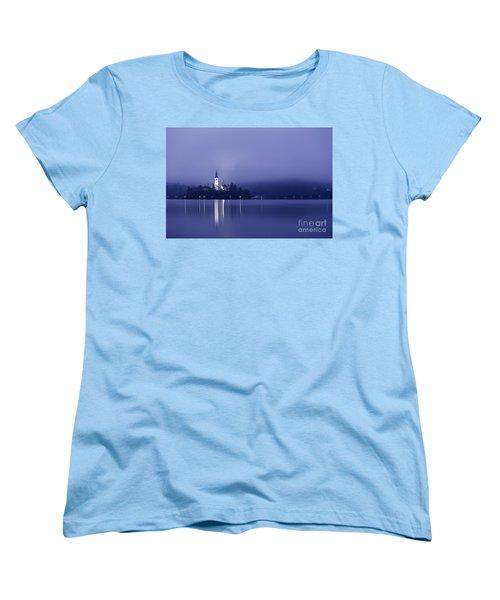 Bled Slovenia Women's T-Shirt (Standard Cut) by Mariusz Czajkowski