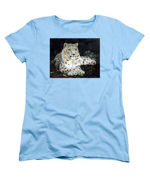 Blizzard Women's T-Shirt (Standard Cut) by Linda Becker