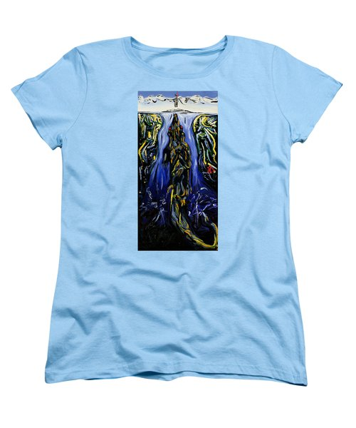 Blood Gulch Women's T-Shirt (Standard Cut) by Ryan Demaree