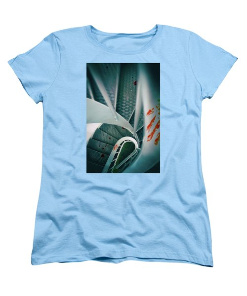 Women's T-Shirt (Standard Cut) featuring the photograph Bloody Stairway by Carlos Caetano