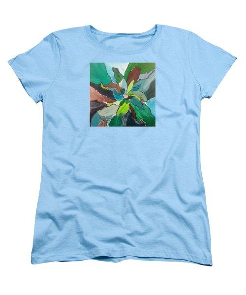Blossom Women's T-Shirt (Standard Cut) by Becky Chappell