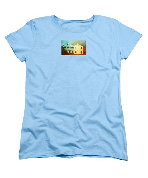 Women's T-Shirt (Standard Cut) featuring the photograph Blowing In The Wind by Anne Kotan