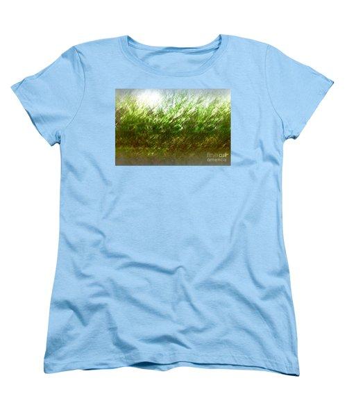 Women's T-Shirt (Standard Cut) featuring the photograph Blowing In The Wind by John Krakora