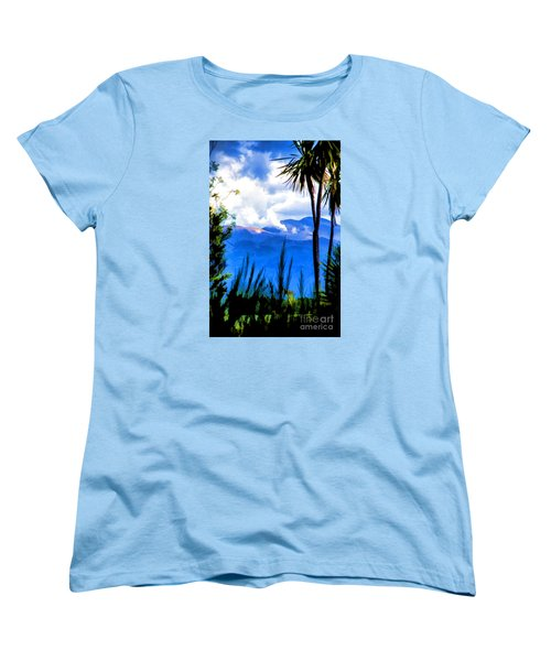 Women's T-Shirt (Standard Cut) featuring the photograph Blowing Steam by Rick Bragan