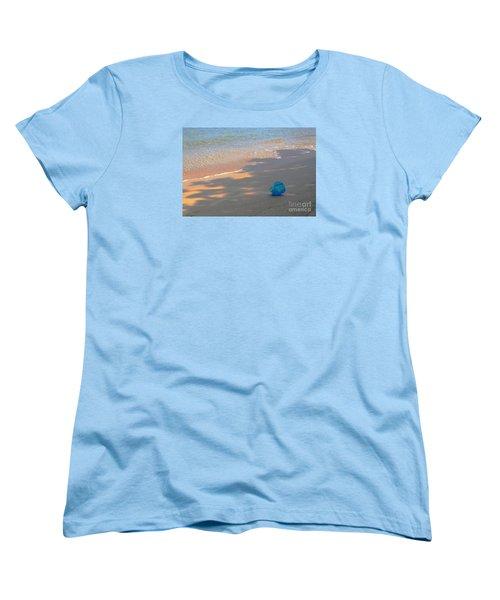 Blue Bucket Women's T-Shirt (Standard Cut) by Jeanette French