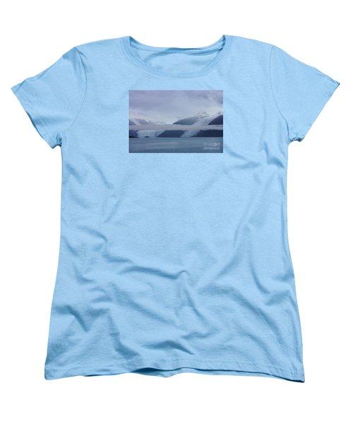 Blue Escape In Alaska Women's T-Shirt (Standard Cut) by Jennifer White