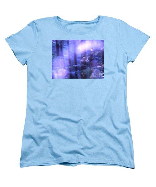 Blue Fairies Women's T-Shirt (Standard Cut) by Melissa Stoudt