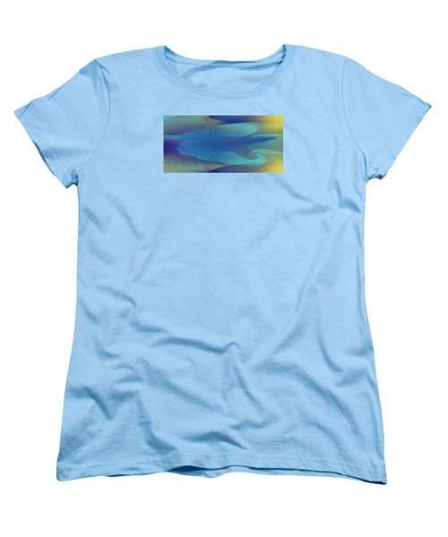 Blue Fog I Women's T-Shirt (Standard Cut) by David Klaboe