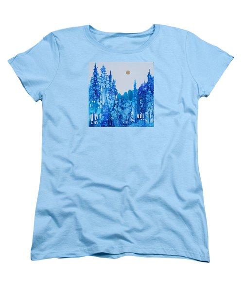 Blue Forest Women's T-Shirt (Standard Cut)