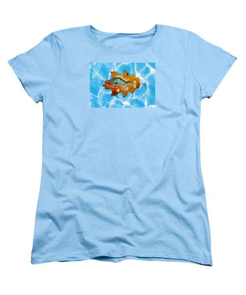 Blue Gill Women's T-Shirt (Standard Cut) by Ralph Root