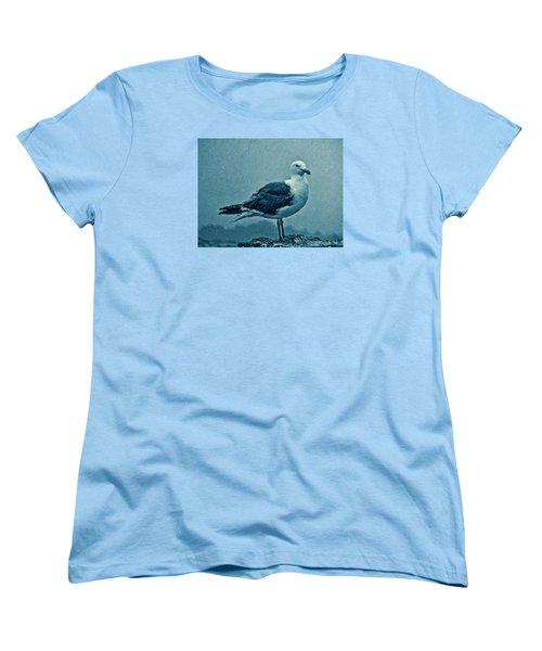 Blue Gull Women's T-Shirt (Standard Cut)