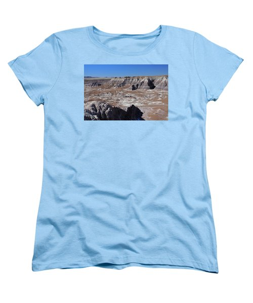Blue Mesa Women's T-Shirt (Standard Cut) by Gary Kaylor