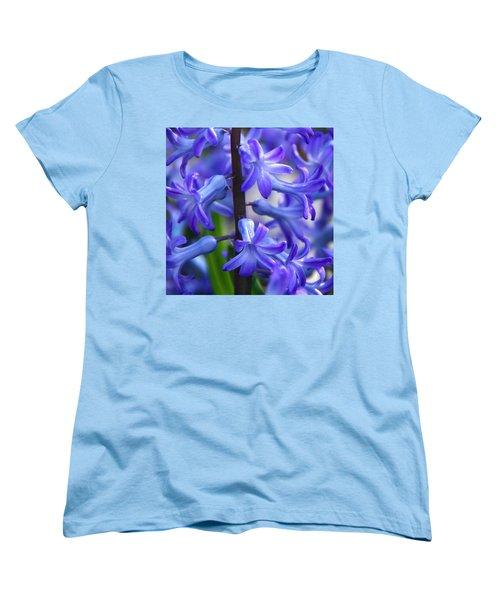 Women's T-Shirt (Standard Cut) featuring the photograph Blue Rhapsody by Byron Varvarigos