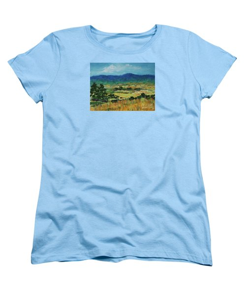 Blue Ridge Women's T-Shirt (Standard Cut) by Gail Kent