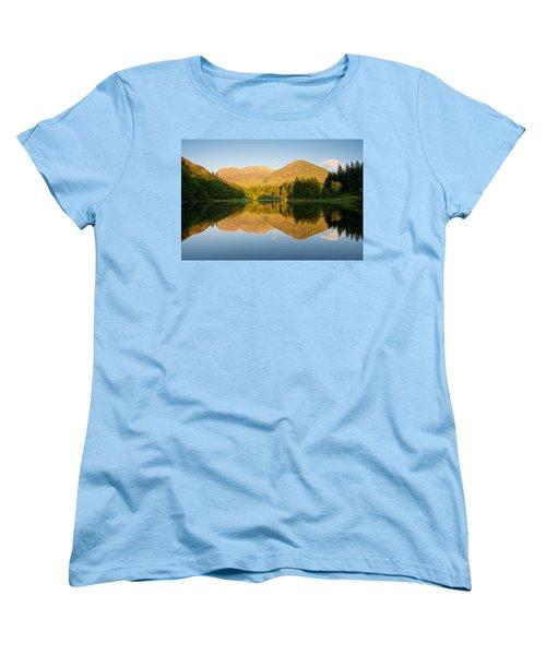 Blue Skies At Torren Lochan Women's T-Shirt (Standard Cut) by Stephen Taylor