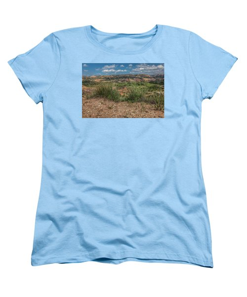 Blue Skies Over Palo Duro Canyon Women's T-Shirt (Standard Cut)