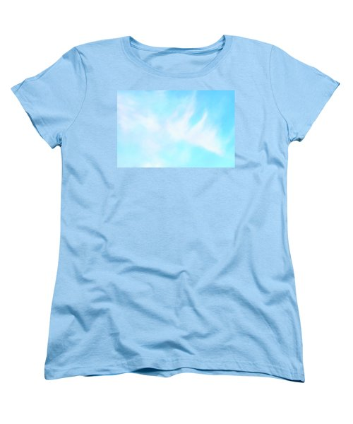 Blue Sky Women's T-Shirt (Standard Cut) by Anton Kalinichev