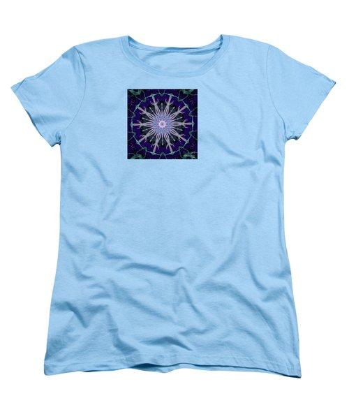Blue Star Women's T-Shirt (Standard Cut) by Shirley Moravec