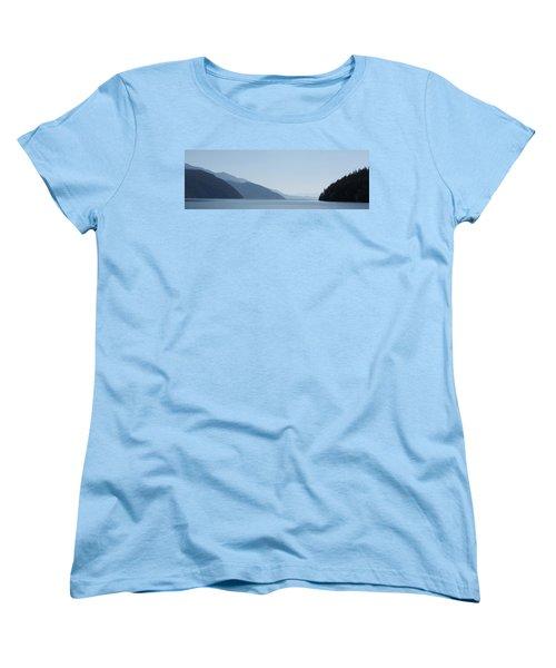Blue Summer Women's T-Shirt (Standard Cut) by Cathie Douglas