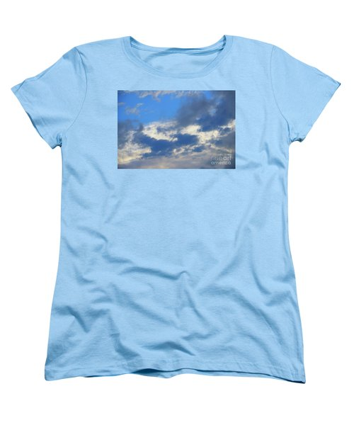 Women's T-Shirt (Standard Cut) featuring the photograph Blue Two by Jesse Ciazza