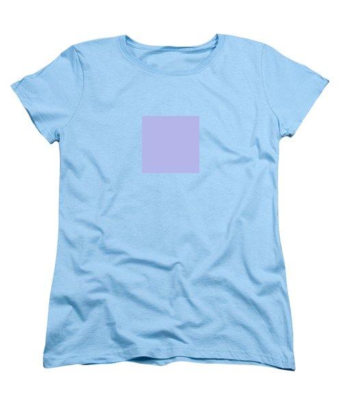 Blue Ultra Soft Lavender Colour Palette Women's T-Shirt (Standard Cut)