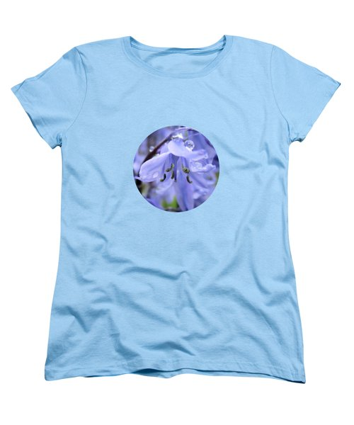 Bluebell Wood By V.kelly Women's T-Shirt (Standard Fit)