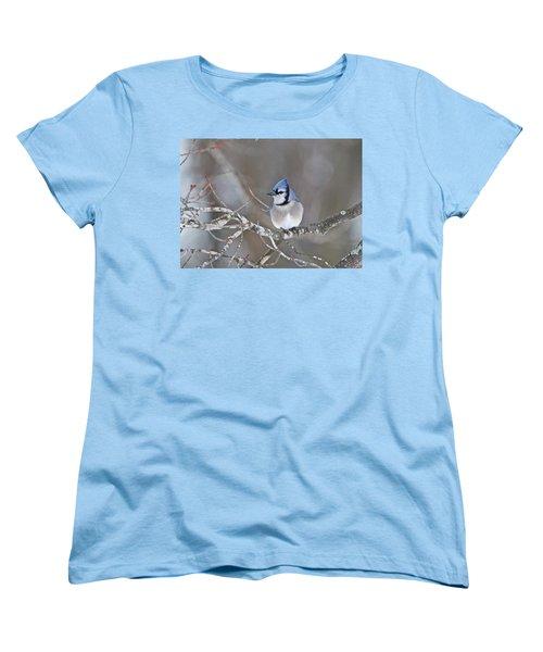Bluejay 1352 Women's T-Shirt (Standard Cut) by Michael Peychich