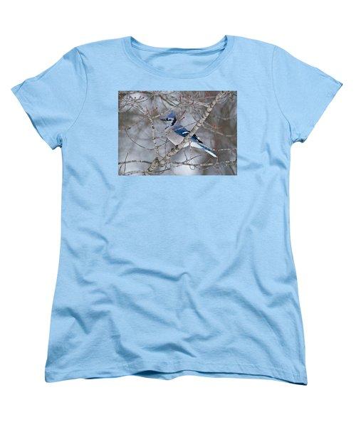 Bluejay 1358 Women's T-Shirt (Standard Cut) by Michael Peychich