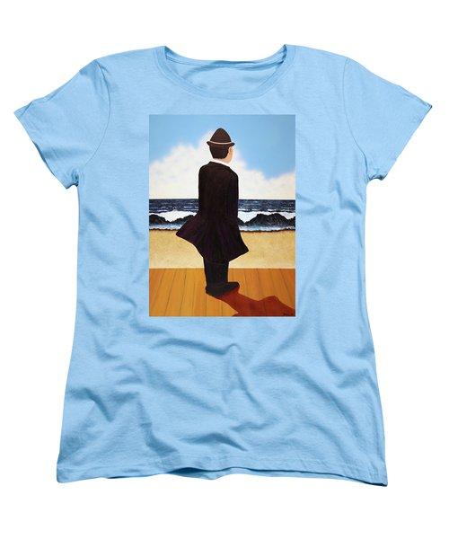 Boardwalk Man Women's T-Shirt (Standard Cut)