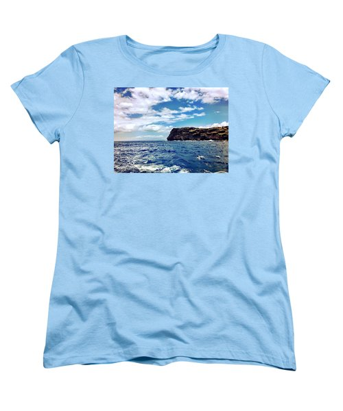 Women's T-Shirt (Standard Cut) featuring the photograph Boat Life by Michael Albright