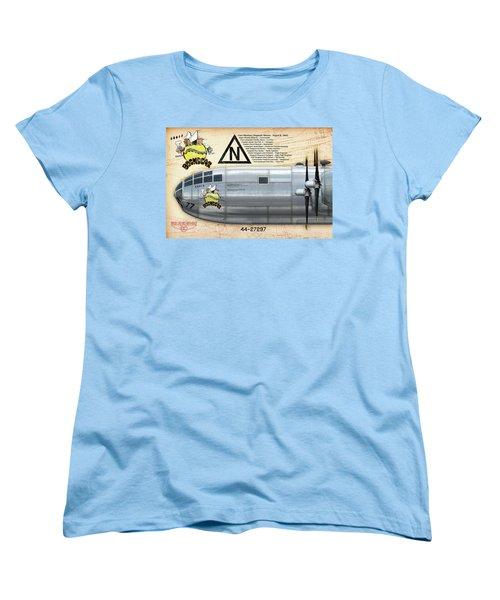 Bockscar Nosearts Women's T-Shirt (Standard Cut) by David Collins
