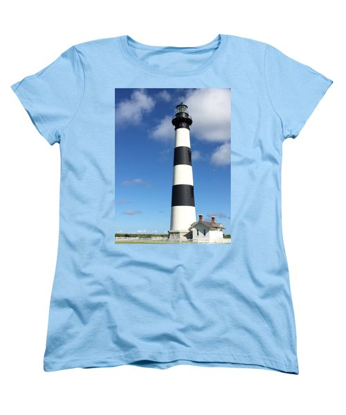 Bodie Island Lighthouse Cape Hatteras Women's T-Shirt (Standard Cut) by Dorothy Maier