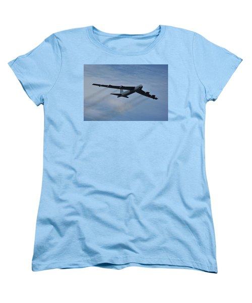 Boeing B-52h Stratofortress Women's T-Shirt (Standard Cut) by Tim Beach