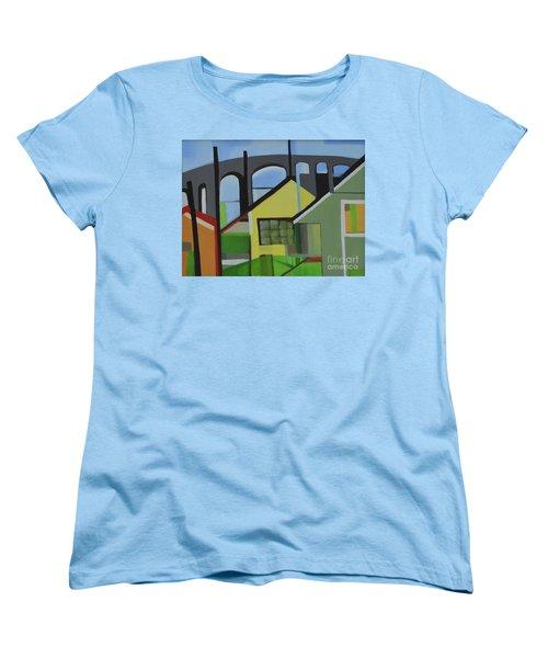 Bogota 80 Women's T-Shirt (Standard Cut) by Ron Erickson